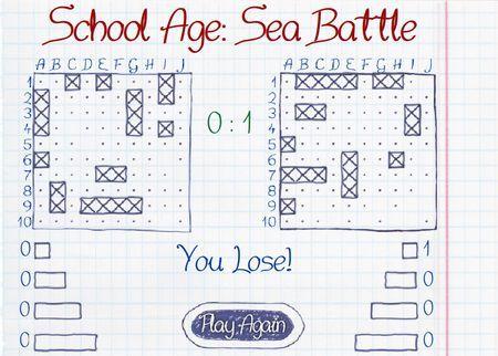 School Age: Sea Battle