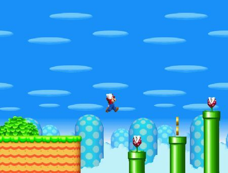 New super mario bros flash