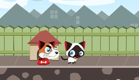 Run, Kitty, run