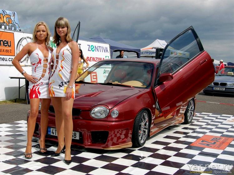 Авто и девушки фото, автомобили и девушки обои